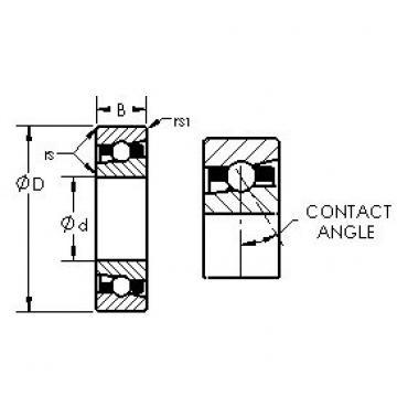 AST H71919C/HQ1 angular contact ball bearings