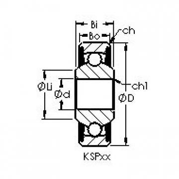 AST KSP3L deep groove ball bearings