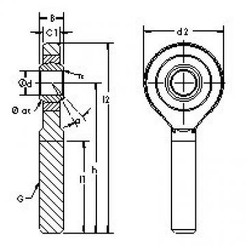 AST SA6E plain bearings