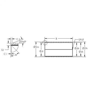 AST AST850SM 6560 plain bearings