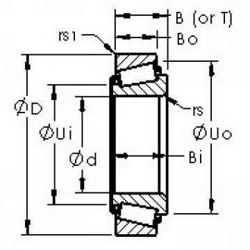 AST HM807048/HM807010 tapered roller bearings