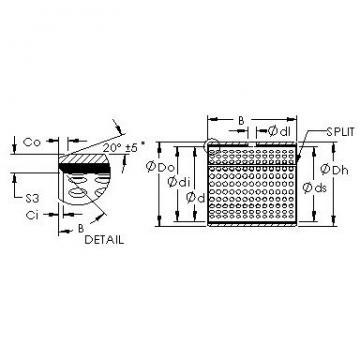 AST AST20 8580 plain bearings