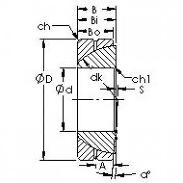 AST GAC45S plain bearings