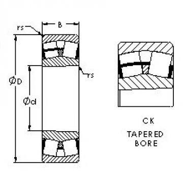 AST 22315CK spherical roller bearings