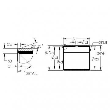 AST AST11 5050 plain bearings