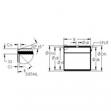 AST AST50 48IB36 plain bearings