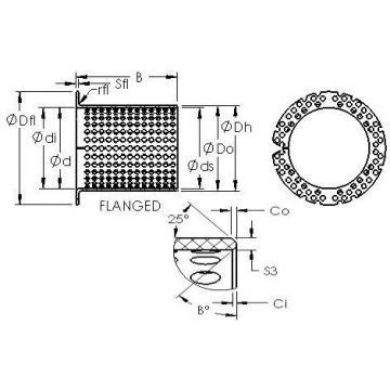 AST ASTT90 F4550 plain bearings