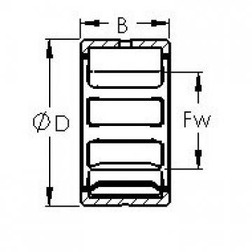 AST NK105/26 needle roller bearings