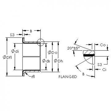 AST AST11 F06040 plain bearings