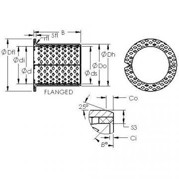 AST ASTB90 F3020 plain bearings