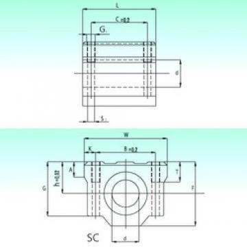 NBS SC 20-UU AS linear bearings
