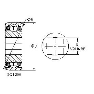 AST SQ1211-108 deep groove ball bearings
