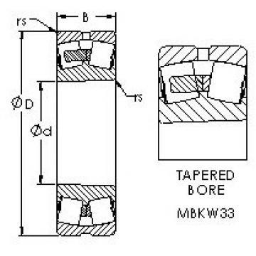 AST 24156MBK30W33 spherical roller bearings