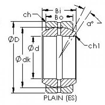 AST GE50ES plain bearings