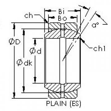 AST GEF100ES plain bearings