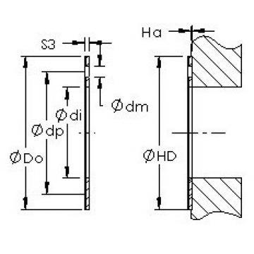 AST AST20 WC38 plain bearings