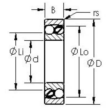 AST 2204 self aligning ball bearings