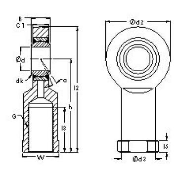 AST SI25C plain bearings