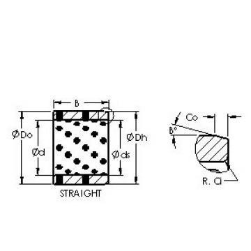 AST AST650 658080 plain bearings