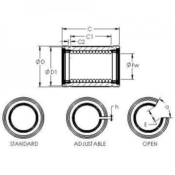 AST LBE 20 AJ linear bearings