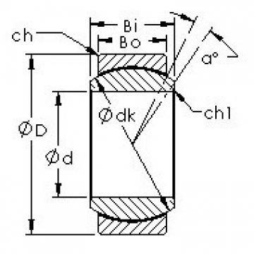 AST GE30ET/X plain bearings