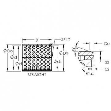 AST AST090 7050 plain bearings