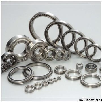 AST H7034AC angular contact ball bearings