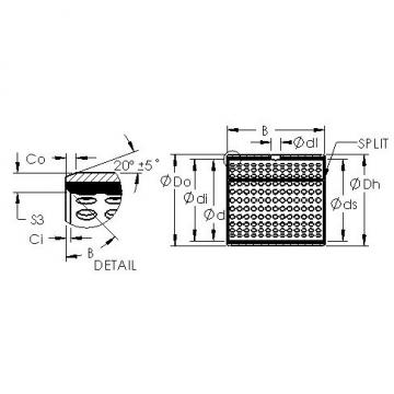 AST AST800 2840 plain bearings