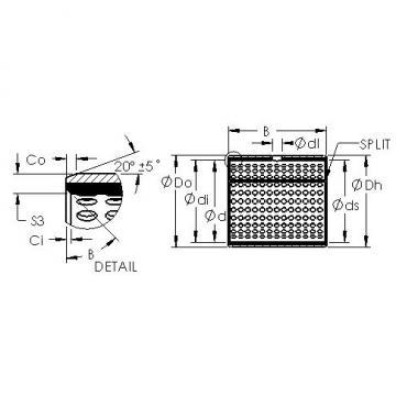 AST AST800 4540 plain bearings