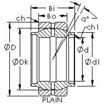 AST GEWZ95ES plain bearings