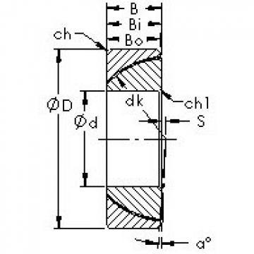AST GAC90N plain bearings